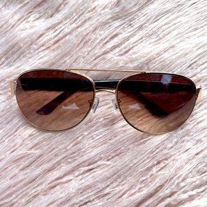 Fossil Unisex Sunglasses Brown Gradient Lenses
